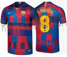 Nike Andres Iniesta FC Barcelona 20TH Aniversario Mashup Camiseta Local 1999