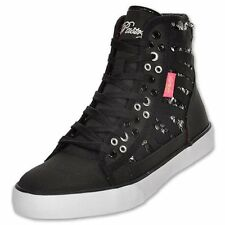 Pastry Paris Lover black sequins hightop trainers/sneakers