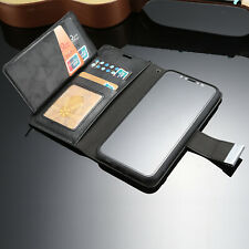 For iPhone 8 Plus Case 7 6s XS Max X Retro Leather Card Slot Wallet Magnet Cover