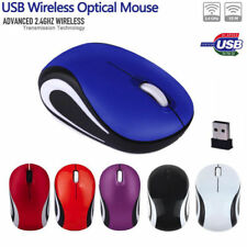 2000DPI Cute Mini 2.4 GHz USB Wireless Optical Mouse Mice For PC Laptop Notebook
