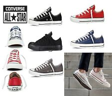 Converse Unisex Chuck Taylor Classic All Star Lo Hi Tops Canvas Trainers New UK