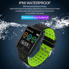 Waterproof Smart Watch Heart Rate Monitor Bracelet Wristband for iOS Android
