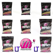 Mainline Baits NEW High Impact Boilies -*1kg Bag*- All Variations Available
