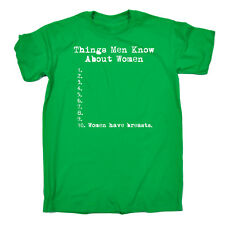 59a074bc Funny t shirt Things Men Know About Women Guy Adult tshirt T-SHIRT Birthday