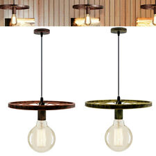 Vintage Retro Style wheel Ceiling Light Pendant Lamp Shade Industrial Chandelier