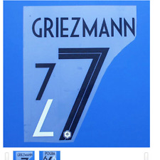 2018 France World Cup Pogba Mbappe Griezmann Shirt Jersey Name Number Printing