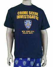 NYPD NAVY BLUE CSI CRIME SCENE INVESTIGATION T-SHIRT POLICE TEE MEN UNISEX NEW