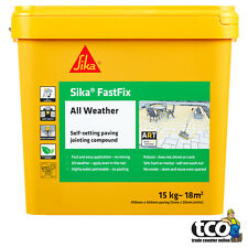 Sika Fast Fix All Weather Self-Setting Paving Jointing Compound Grey Buff 14kg