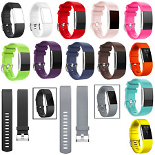 Replacement Band Wristband Silicone Watch Wrist Sports Strap For Fitbit Charge 2