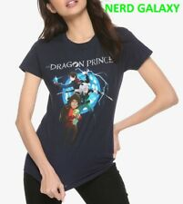 THE DRAGON PRINCE Group NETFLIX Juniors T-Shirt, NEW! LICENSED! Anime