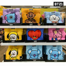 BTS BT21 Official Authentic Goods Sitting Cushion 7Characters + Tracking Number