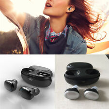 Portable True Wireless Earbud Headset Bluetooth Twins In-Ear TWS Stereo Earphone