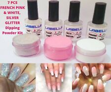 French PINK & White Nail Dipping Powder Acrylic System Drys Fast Starter Kit