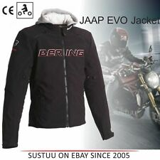 Bering Jaap Evo Men's Motorcycle/ Bike Textile Jacket│CE APP│Black/Red│All Sizes