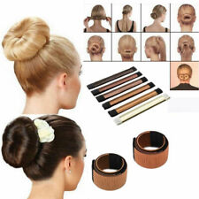 Hair Bun Maker Donut Styling Bands Former Foam French Twist Magic DIY Tool