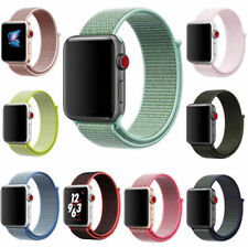 New Fashion Woven Nylon Band for Apple Watch Sport Loop iWatch Series 4/3/2/1 US