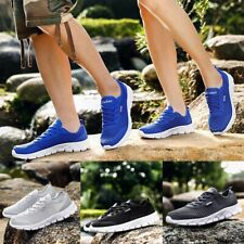 Couple Unisex Shoes Pumps Trainers Lace Up Mesh Sports Running Casual Size35-47