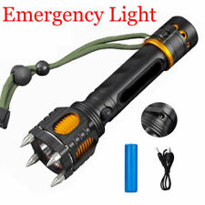 50000LM Selfdefense LED Tactical Flashlight Camping Hunting Hiking Light Torch