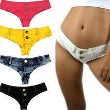 US Stock Sexy Women Girls Low Waist Denim Beach Jeans Pants Hot Shorts Casual