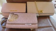 NWT NEW Michael Kors (Cross Body, Clutch, wallet) in Pinks,Choice only two left