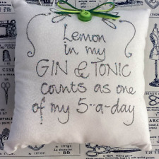 NEW IN CELLO WHEN LIFE HANDS YOU LEMONS MAKE GIN COASTER YELLOW CROWN