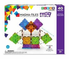 Magna-Tiles Freestyle 40 pcs. - Building Set by Magna-Tiles (18840)