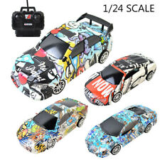 RC Electric Racing Drift Car 1/24 4WD Radio High Speed Racer Car For Kids Gift