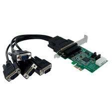 StarTech.com PEX4S952 4 Port Native PCI Express RS232 Serial Adapter Card with