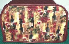 Quilted Toaster Cover Wine Made to Order SEND YOUR MEASUREMENTS!!