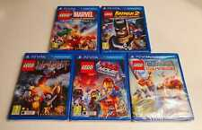 LEGO Games PS VITA NEW SEALED Movie, Batman 2, Marvel, Chima, Hobbit