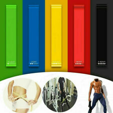 Resistance Elastic Band Exercise Yoga Belt Rubber Fitness Training Stretch Strap