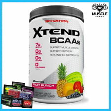 SCIVATION XTEND BCAA 30 SERVINGS AMINO ACIDS CITRULLINE INTRA WORKOUT RECOVERY