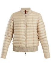 Nw MONCLER casual puffer down jacket BARYTINE 45317 53048 beige w/ code.Moncler