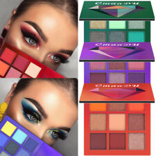 Women Eye Shadow Palette Make Up tools Cosmetic 9 Colors Shimmer Pressed Kits