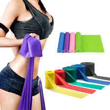 1.5M Latex Resistance Stretch Band Elastic Exercise Yoga Training Fitness Belt