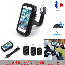 Support Housse Telephone GPS Étanche  Tactile  Moto Scooter Vélo 3 Tailles