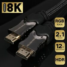 Lifetime Warranty Full 8K@120Hz HDMI 2.1 Braided Cord for TV PS3 PS4 Pro Xbox CA
