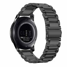 Samsung Galaxy Watch 46mm Stainless Steel Strap Gear S3 Frontier/S3 Classic Band