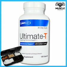 USP LABS ULTIMATE T 120 CAPS TESTOSTERONE BOOSTER CORTISOL SUPPORT STRESS RELIEF