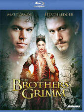 The Brothers Grimm (Blu-ray Disc, 2013) Brand New Sealed