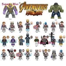 Marvel Avengers 4 Endgame Captain America Iron man Thanos Thor Building Blocks