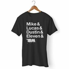 NEW STRANGER OF THINGS CHARACTER NAMES MAN'S / WOMAN'S T-SHIRT USA SIZE EM1