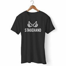 NEW STAGEHAND MAN'S / WOMAN'S T-SHIRT USA SIZE EM1
