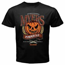 NEW MICHAEL MYERS MOVIE VINTAGE HALLOWEEN T-SHIRT BLACK CREEPY CLOWN USA SIZE