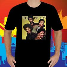 NEW THE METERS BAND AMERICAN FUNK BAND MEN'S BLACK T-SHIRT SIZE S-3XL USA SIZE