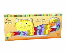 Alphabet Cat Puzzle - Wooden Puzzle by Orange Tree Toys (04592)