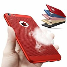 Ultra Slim Cover Heat Dissipation Phone Case For iPhone XS MAX XR X  6S 7 8 Plus