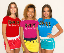 Spice Girls Leopard Spice up your Life  Womens T Shirts