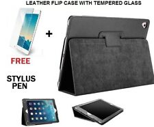 """Flip Leather Stand Case Cover For NEW Apple iPad 2017/2018,9.7"""" (FREE TEMPERED)"""