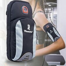 Water-Resistance Running Phone Armband Bag w/Extra Pockets for Keys, Cash, Cards